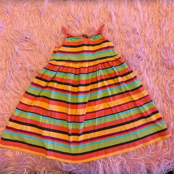Gymboree striped swing dress